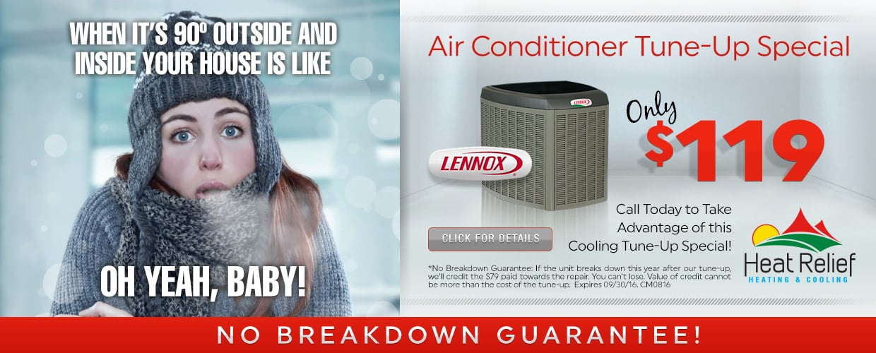 Air Conditioner Tune-up Special