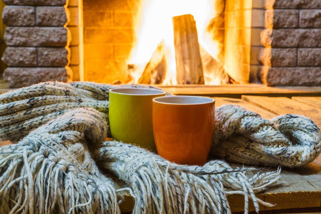 how a fireplace affects HVAC