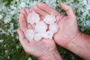 Large Hail in Portland, OR