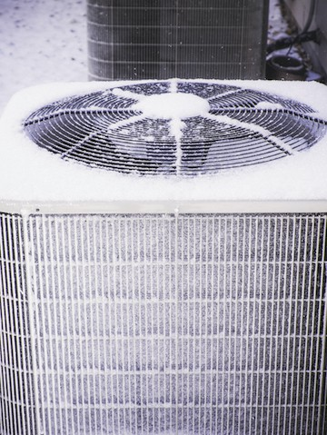 HVAC System during a Winter Storm